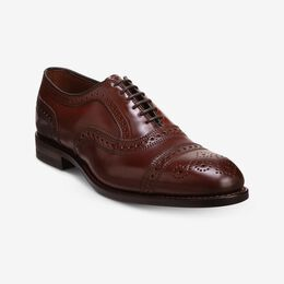 Strand Shell Cordovan Cap-Toe Oxford, 3482 Chili, blockout