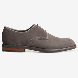 Nomad Suede Plain-toe Derby, 6244 Grey, blockout