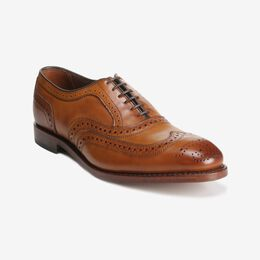 McAllister Wingtip Oxford, 6235 Walnut, blockout