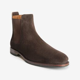 Liverpool Suede Chelsea Boot, 7525 Brown, blockout