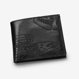 Three Kings Wallet, 1015629 Black, blockout