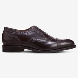 Strand Shell Cordovan Cap-Toe Oxford, 1695 Burgundy, blockout