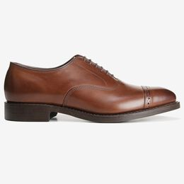 Fifth Avenue Cap-Toe Oxford with Dainite Rubber Sole, 2176 Coffee, blockout