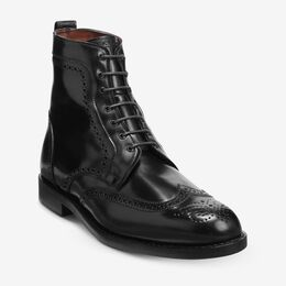 Dalton Shell Cordovan Dress Boots, 3188 Black, blockout