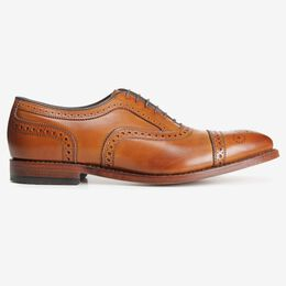 Strand Cap-Toe Oxford, 1635 Walnut, blockout