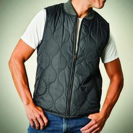 MacKay Quilted Vest, 1018843 Black, blockout