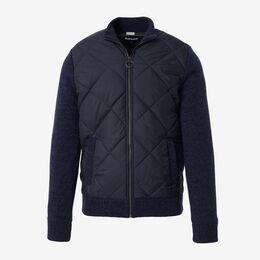 Magnus Quilted Zip Up Jacket by Barbour, 1018410 Navy, blockout
