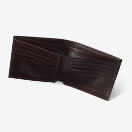 RFID Executive Bifold Wallet, WLM2BUR2 Burgundy, blockout