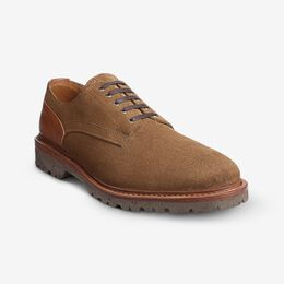 Discovery Derby Shoe, 3750 Snuff Suede / Cognac Leather, blockout