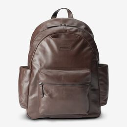 Clark Leather Backpack, 1018492 Brown, blockout