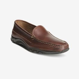 Boulder Venetian Driving Moccasin, 40023 Brown with Brown Trim, blockout