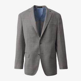 Textured Blazer, 1017769 Grey, blockout