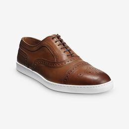Strand Oxford Sneaker, 3866 Walnut, blockout