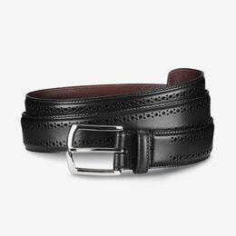 Manistee Dress Belt, 74011 Black, blockout