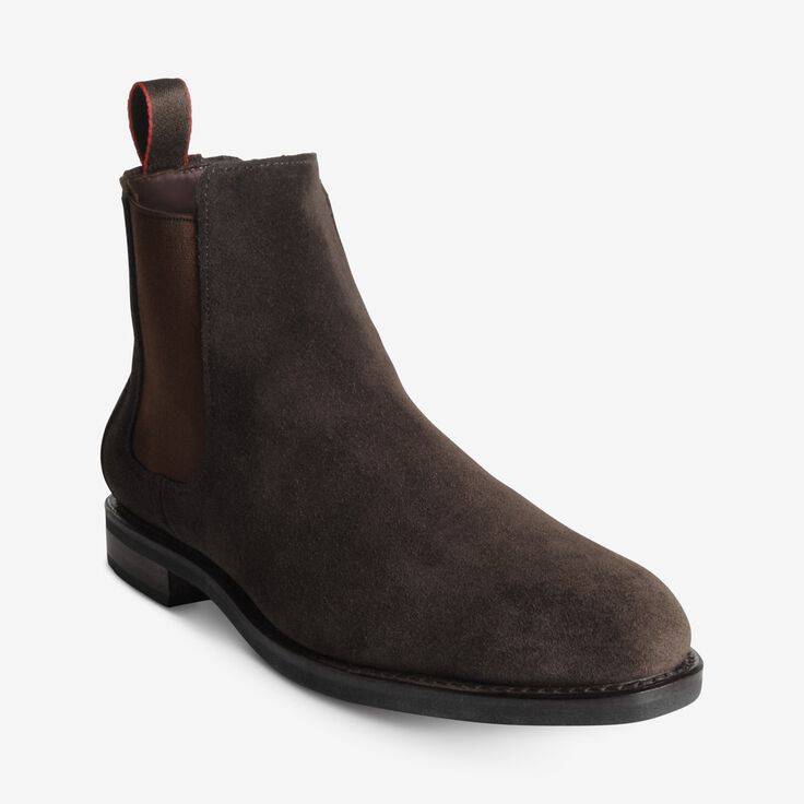 Nomad Suede Chelsea Boot, 2919 Chocolate Brown, blockout