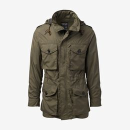 Three Season Field Jacket by Cockpit USA, 1015631 Olive, blockout