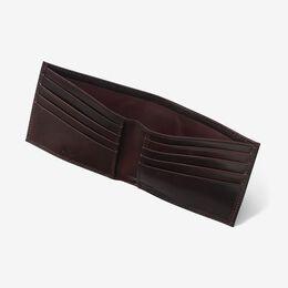 Cordovan Billfold Wallet, 1201CBUR Burgundy Cordovan, blockout