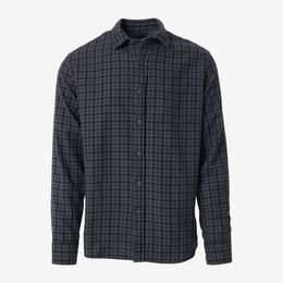Draycott Gingham Shirt, 1018576 Navy, blockout