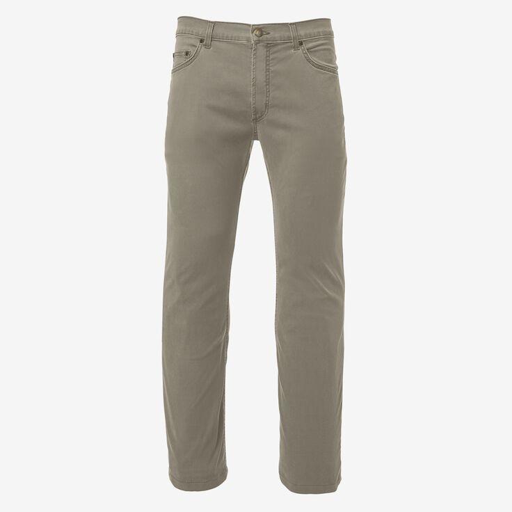 5 Pocket Straight Fit Pants, 1017470 Khaki, blockout