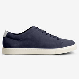 Canal Court Suede Sneaker, 2513 Chambray, blockout
