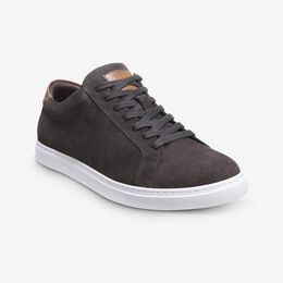 Courtside Suede Sneaker, 3579 Grey, blockout