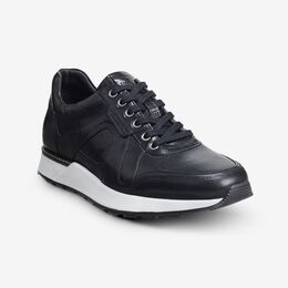 A-Trainer Lace-Up Sneaker, 4249 Black, blockout