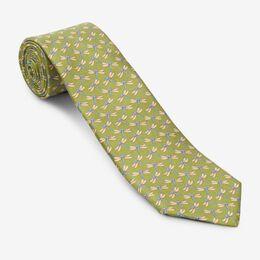 Olive Dragonfly Tie, 1017492 Olive, blockout