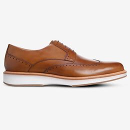 Brooklyn Light Wingtip Derby, 3297 Walnut, blockout