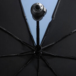 Solo Umbrella by Davek, 1018BLK Black, blockout