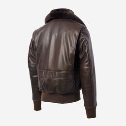 G1 Bomber Jacket by Cockpit USA, 1016754 Brown, blockout