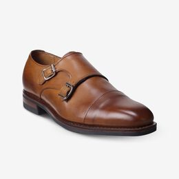 Marin Double Monk Strap with Dainite Rubber Sole, 4259 Walnut, blockout