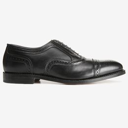Strand Cap-Toe Oxford, 6115 Black, blockout