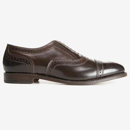 Strand Shell Cordovan Cap-Toe Oxford, 1645 Brown, blockout
