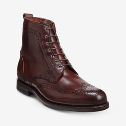 Dalton Shell Cordovan Dress Boots, 3518 Chili, blockout