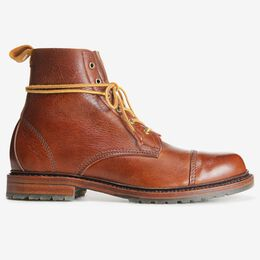 Normandy Cap-Toe Boot, 8303 Tan, blockout