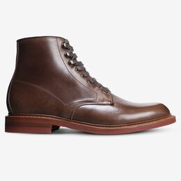 Higgins Mill Weatherproof Boot with Chromexcel Leather, 3729 Natural with Red Sole, blockout