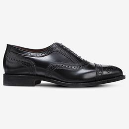 Strand Shell Cordovan Cap-Toe Oxford, 3134 Black, blockout