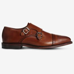 St. Johns Double Monk Strap, 2927 Dark Chili, blockout