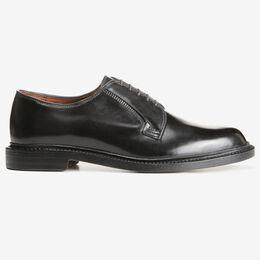 Leeds Shell Cordovan Derby Shoe, 9501 Black, blockout