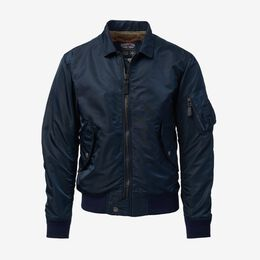 Douglas Bomber Jacket by Cockpit USA, 1015633 Navy, blockout