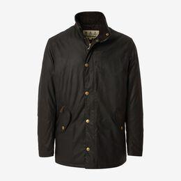 Prestbury Waxed Jacket, 1018409 Brown, blockout