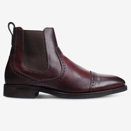 Lombard Chelsea Dress Boot, 4310 Merlot, blockout