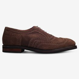 Neumok Suede Wingtip Oxford, 4239 Snuff Brown, blockout