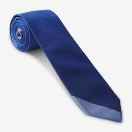Diagonal Stripe Handmade Tie, 1015382 Blue, blockout