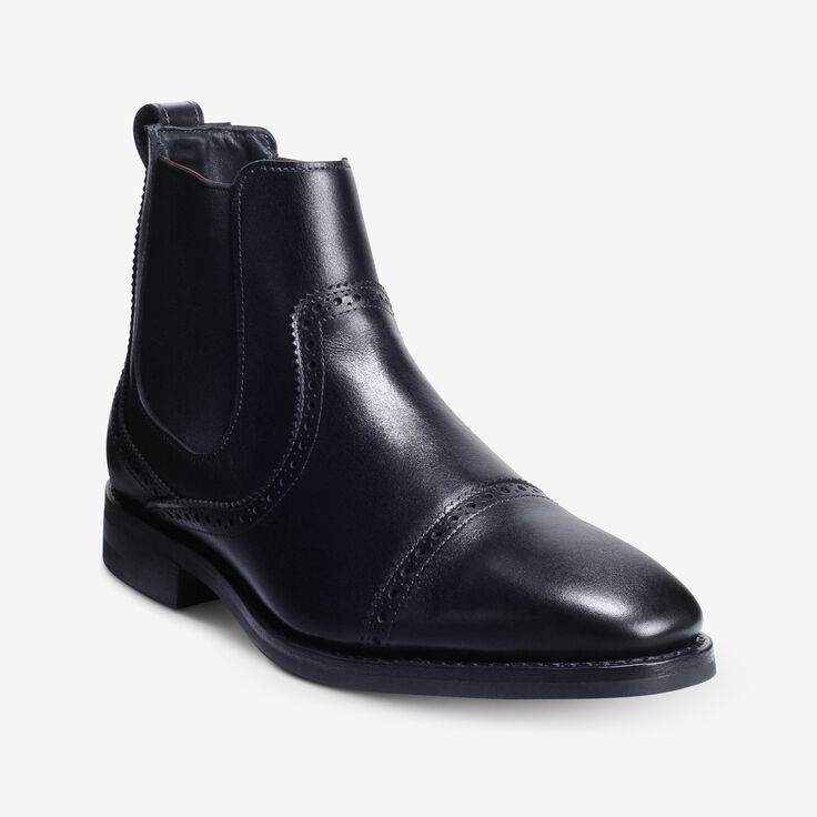 Lombard Chelsea Dress Boot, 4307 Black, blockout