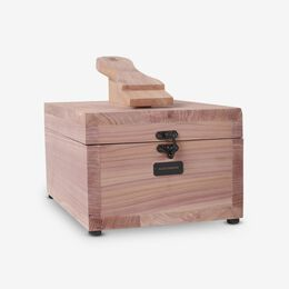 Cedar Valet Box, 1016318 Cedar, blockout