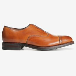 Fifth Avenue Cap-Toe Oxford with Dainite Rubber Sole, 5715 Walnut, blockout