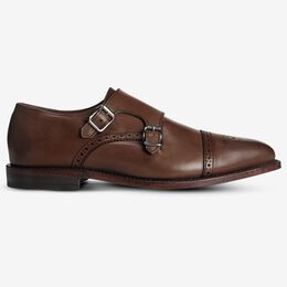 St. Johns Double Monk Strap, 3874 Coffee, blockout