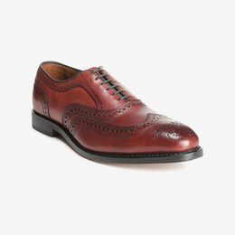 McAllister Wingtip Oxford, 6218 Oxblood, blockout