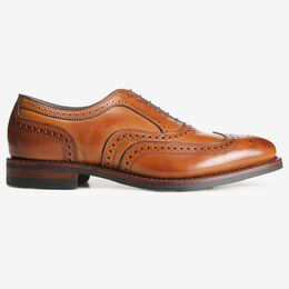 McAllister Wingtip Oxford with Dainite Rubber Sole, 6222 Walnut, blockout